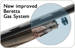 New Beretta improved Gas System